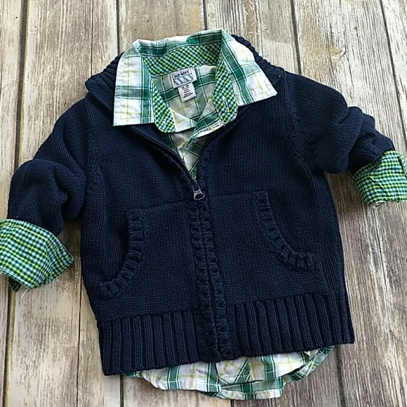 Old Navy Other - Bundle! Button up/sweater